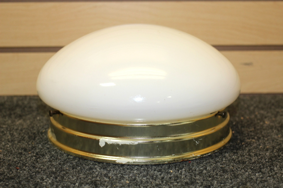 USED RV/MOTORHOME INTERIOR CEILING DOME LIGHT | SIZE: 9 INCH RV Interiors