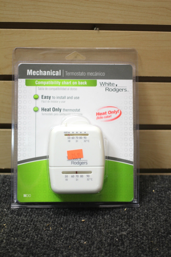 NEW WHITE RODGERS MECHANICAL THERMOSTAT MODEL: M30 RV Interiors
