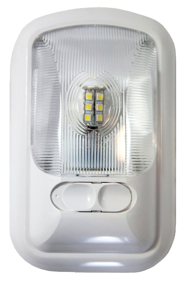 NEW ARCON 20711 SOFT WHITE 12V EU-LITE SINGLE LED RV LIGHT WITH OPTIC LENS RV Interiors
