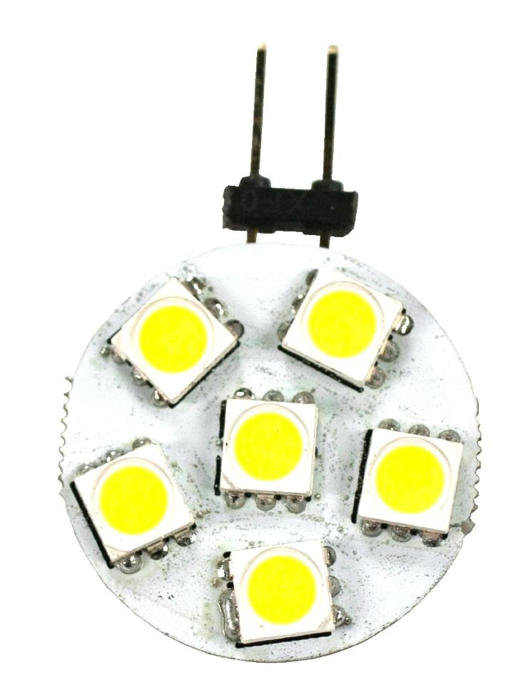 NEW RV/MOTORHOME ARCON 12V BRIGHT WHITE 12V 6-LED DISC BULB PN: 50552 RV Interiors