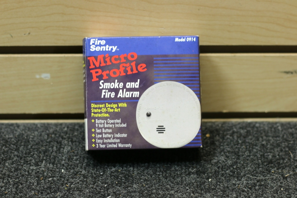 NEW RV FIRE SENTRY SMOKE & FIRE ALARM DETECTOR PN: 0914 RV Interiors