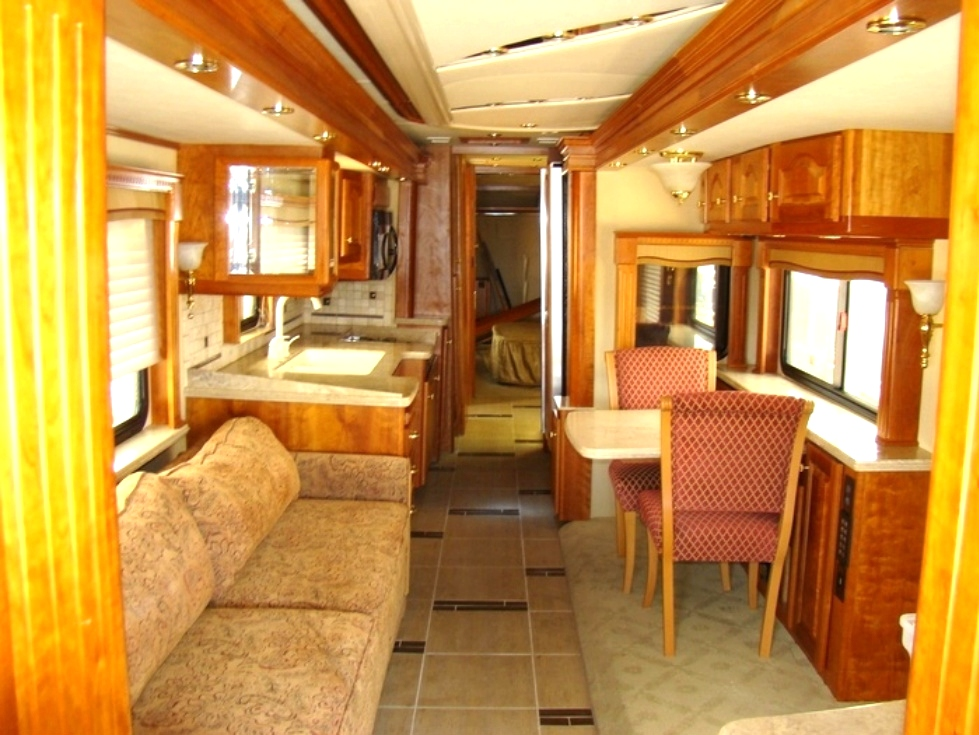 MOTORHOME INTERIOR PACKAGE FOR SALE 2007 COUNTRY COACH MAGNA 630 RV  Interiors