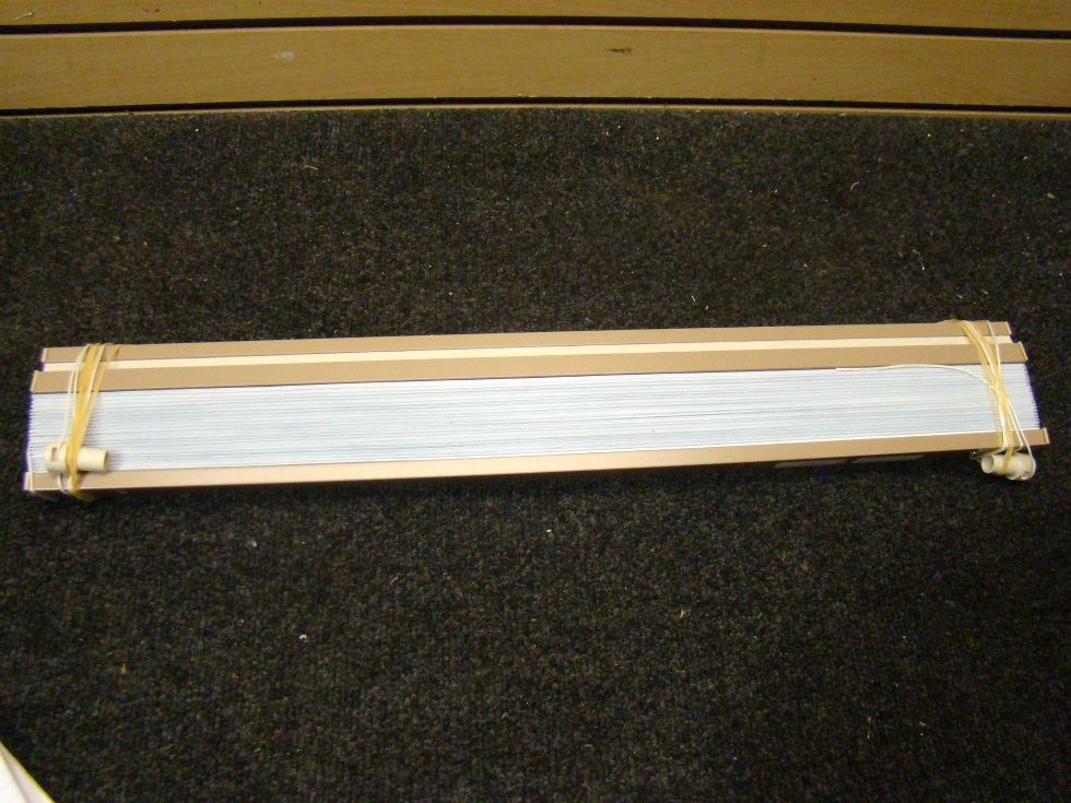 USED RV OR HOME FLEETWOOD LIGHT BEIGE BLINDS 24 RV Interiors