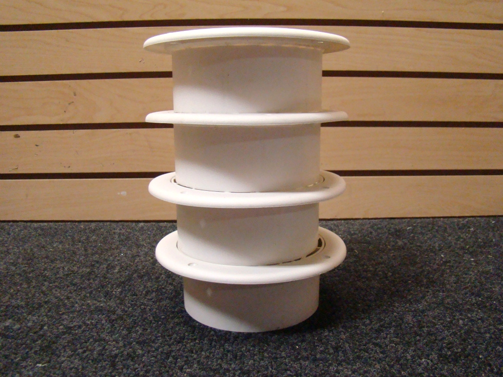 NEW RV OR HOME 4 PIECE WHITE CEILING VENT COVERS  RV Interiors