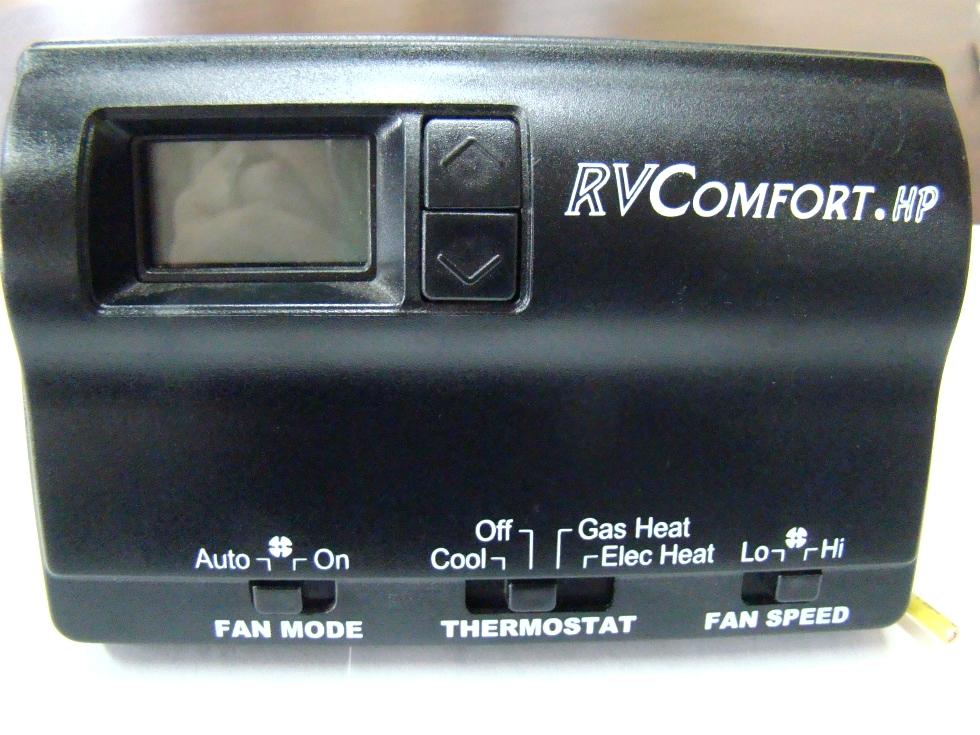 USED RV/MOTORHOME RV COMFORT HP THERMOSTAT (BLACK) FOR SALE RV Interiors