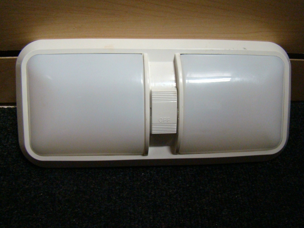 USED RV/MOTORHOME DOUBLE LENSE RV LIGHT PANEL FOR SALE RV Interiors