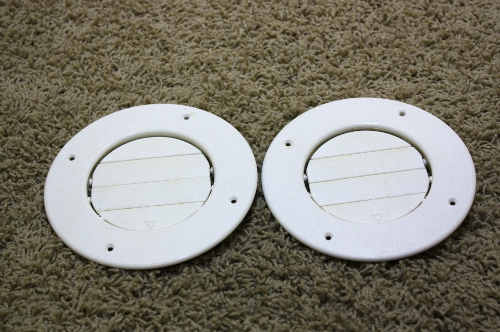 USED RV PARTS SET OF 2 CEILING AIR VENTS FOR SALE RV Interiors