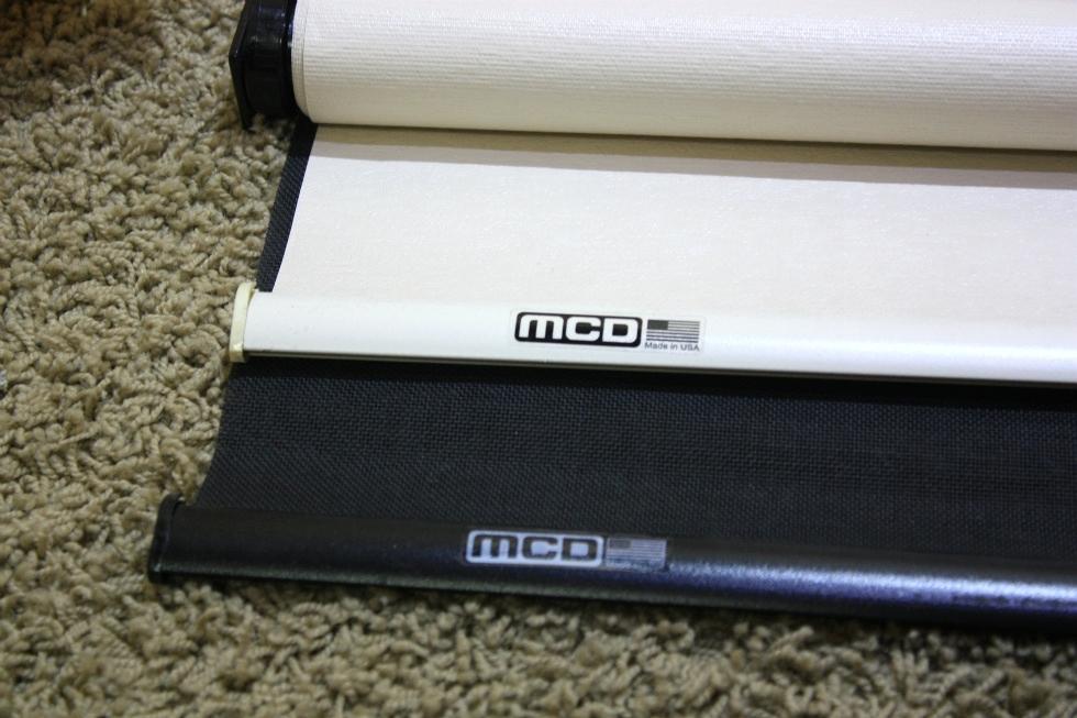 Rv Interiors Used Rv Mcd Entry Door Manual Duo Daynight Shade