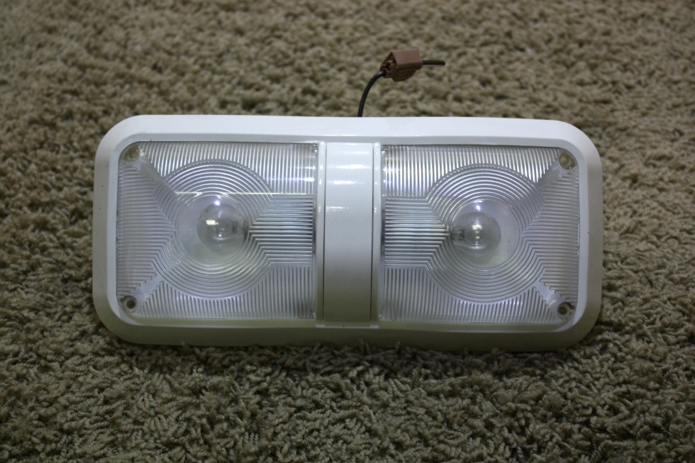USED DOUBLE LENS RV CEILING LIGHT FIXTURE FOR SALE RV Interiors