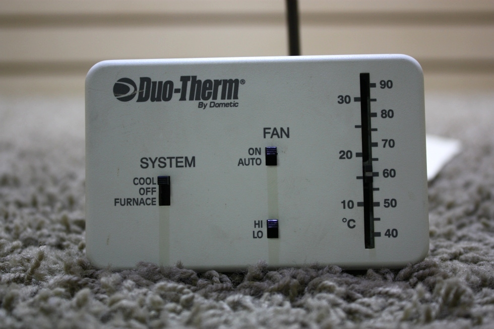 USED MOTORHOME DUO-THERM BY DOMETIC THERMOSTAT 3107612.008 FOR SALE RV Interiors