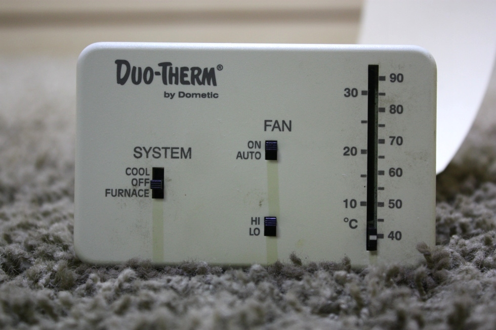 USED RV DUO-THERM BY DOMETIC THERMOSTAT 3107612.008 MOTORHOME PARTS FOR SALE RV Interiors