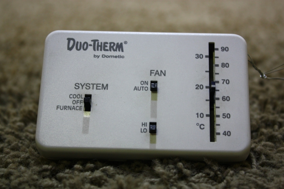 USED MOTORHOME 3107612.008 DUO-THERM BY DOMETIC THERMOSTAT FOR SALE RV Interiors