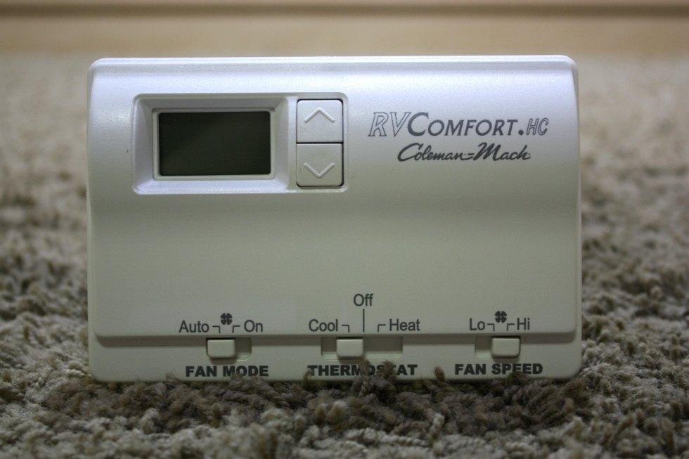 USED RV COLEMAN-MACH RVCOMFORT.HC AM7855 THERMOSTAT FOR SALE RV Interiors