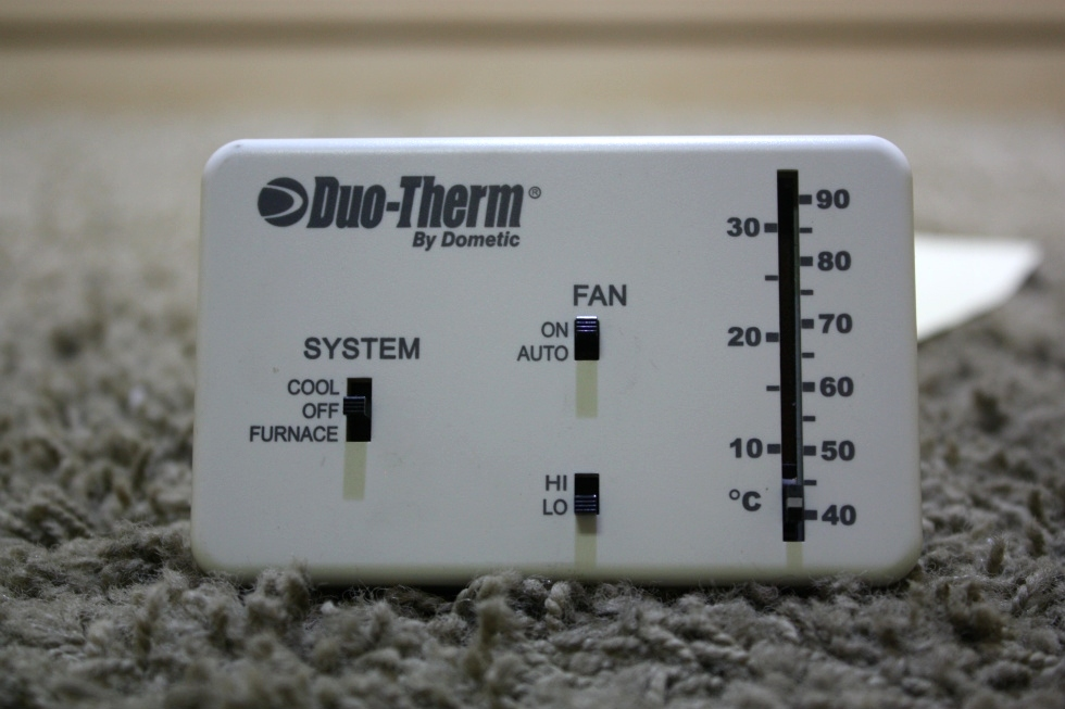 USED DUO-THERM BY DOMETIC 3106995.032 WALL THERMOSTAT MOTORHOME PARTS FOR SALE RV Interiors
