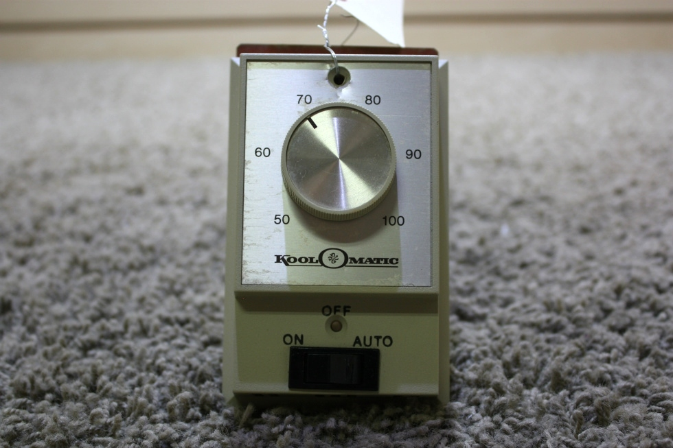 USED RV KOOL-O-MATIC TD113 WALL THERMOSTAT FOR SALE RV Interiors