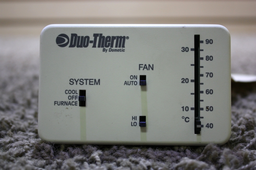 USED MOTORHOME DUO-THERM BY DOMETIC 3107612.008 THERMOSTAT FOR SALE RV Interiors