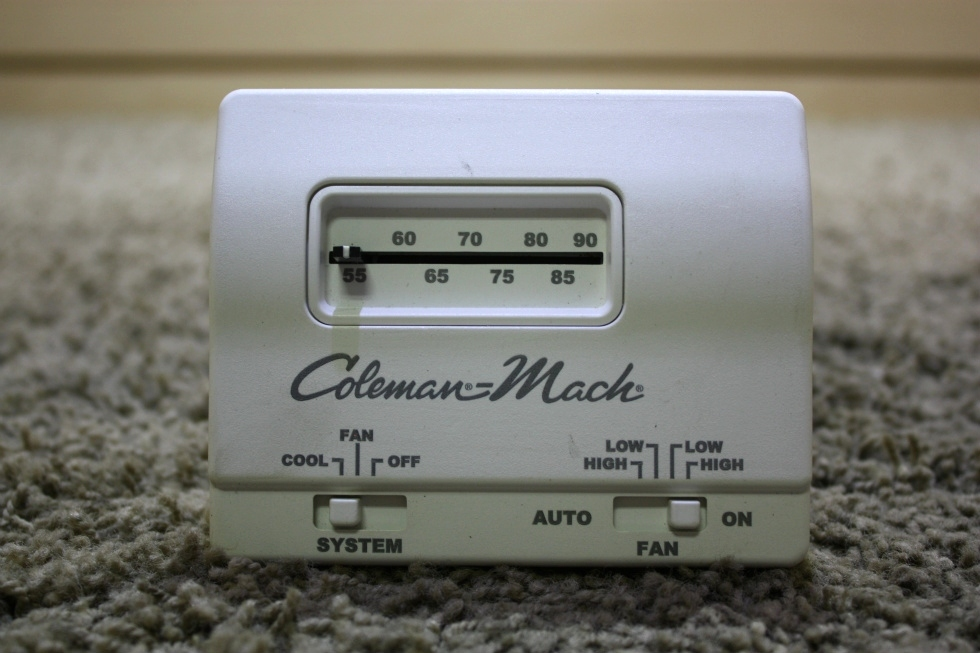 USED COLEMAN-MACH AR7807 WALL THERMOSTAT RV PARTS FOR SALE RV Interiors