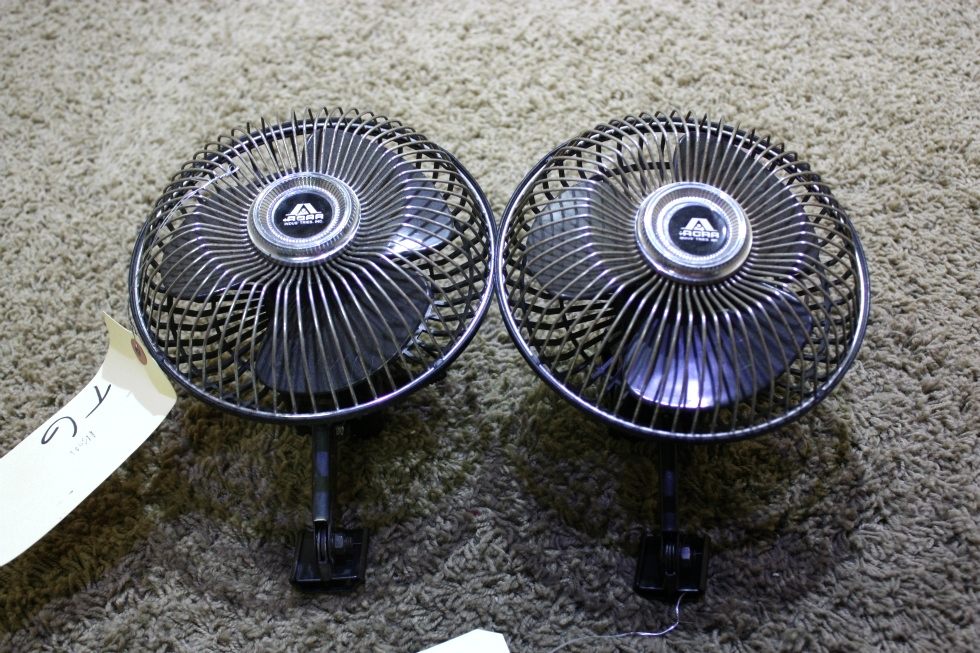 USED RV SET OF 2 ACAR DASH FANS FOR SALE RV Interiors