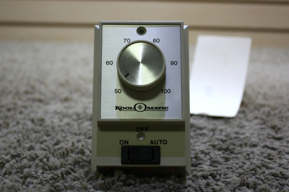 USED KOOL-O-MATIC TD113 MOTORHOME WALL THERMOSTAT FOR SALE RV Interiors