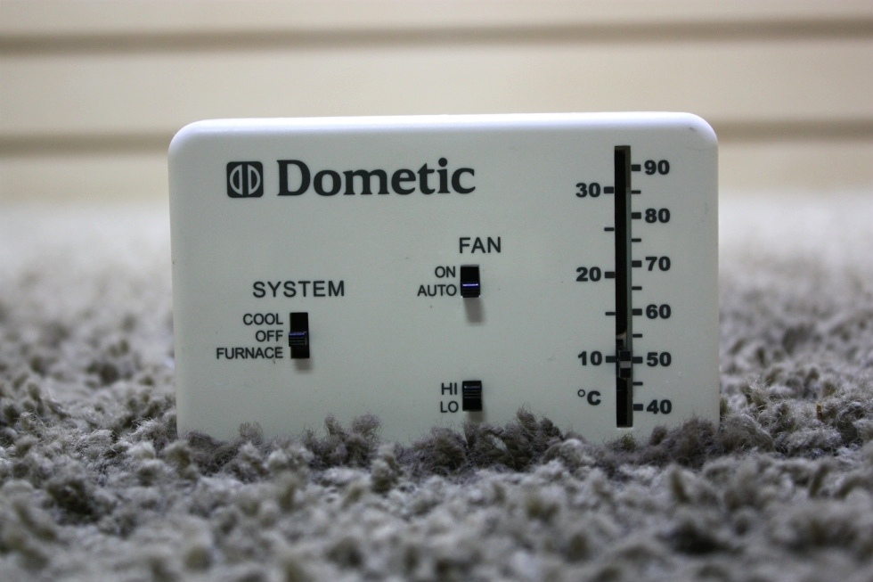 USED MOTORHOME DOMETIC 3106995.032 WALL THERMOSTAT FOR SALE RV Interiors