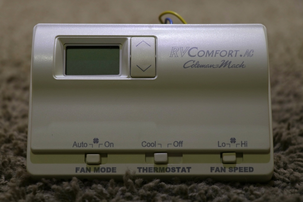 USED RVCOMFORT.AC COLEMAN-MACH 8330-339 RV THERMOSTAT FOR SALE RV Interiors