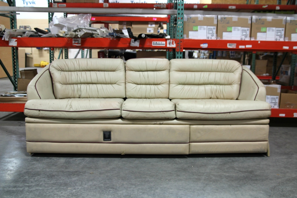 USED RV/MOTORHOME VILLA INTERNATIONAL SOFA COUCH FROM PREVOST BUS   RECOVERABLE RV Furniture