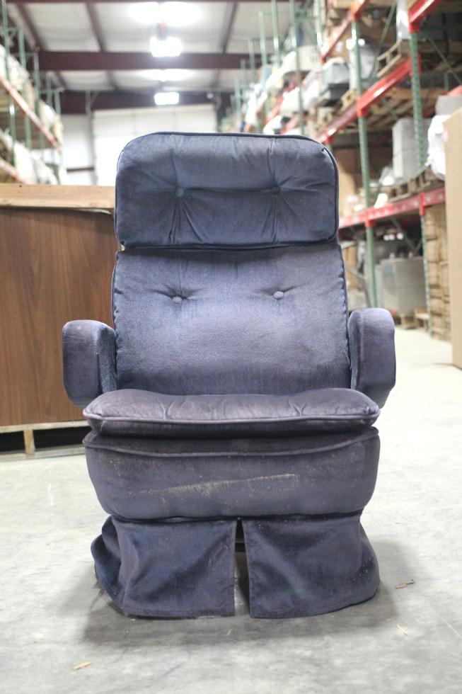 Rv Furniture Used Motorhome Vintage Flexsteel Captain