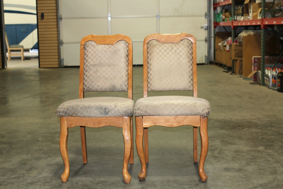 SET OF 2 RECOVERABLE RV/MOTORHOME DINETTE CHAIRS RV Furniture