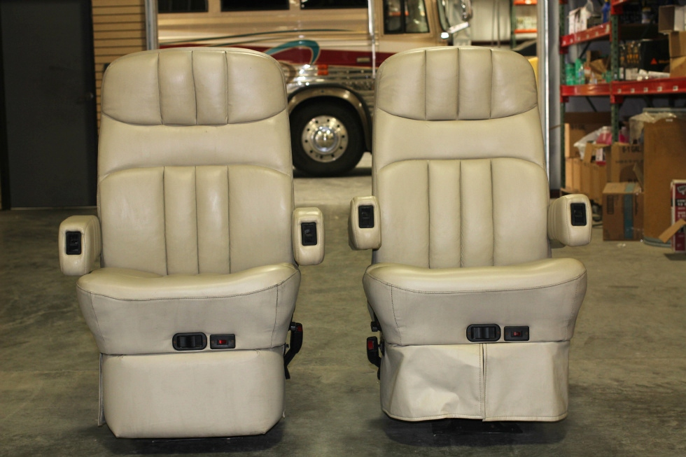 Rv Furniture Flexsteel Rv Captain Chair Set W Power