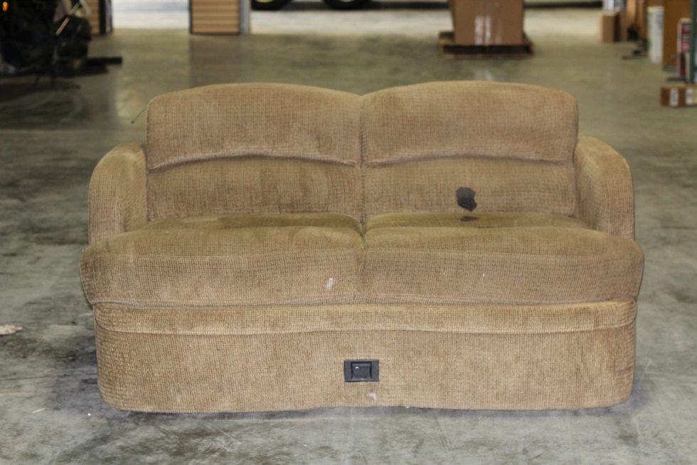USED RV/MOTORHOME LOUNGE SOFA W/ UNDERNEATH STORAGE RV Furniture