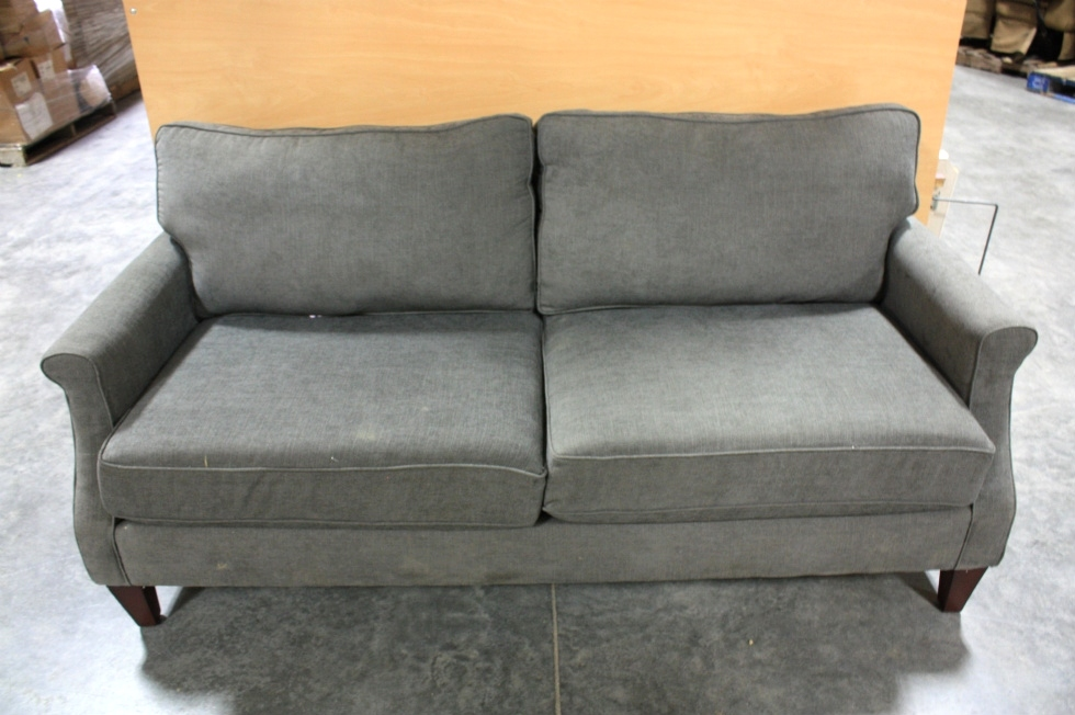 Used Charcoal Polyester Fiber Sofa For