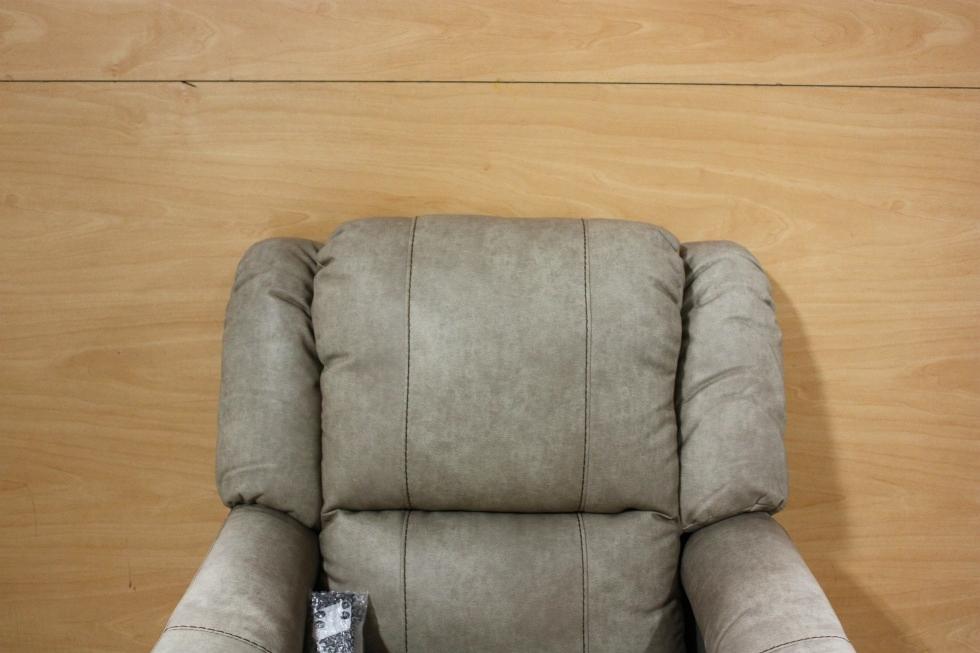 Rv Furniture Thomas Payne Leather Vinyl Swivel Glider