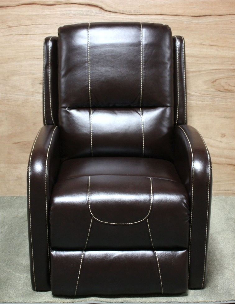 THOMAS PAYNE COLLECTION PUSH BACK RECLINER JALECO CHOCOLATE RV FURNITURE FOR SALE RV Furniture