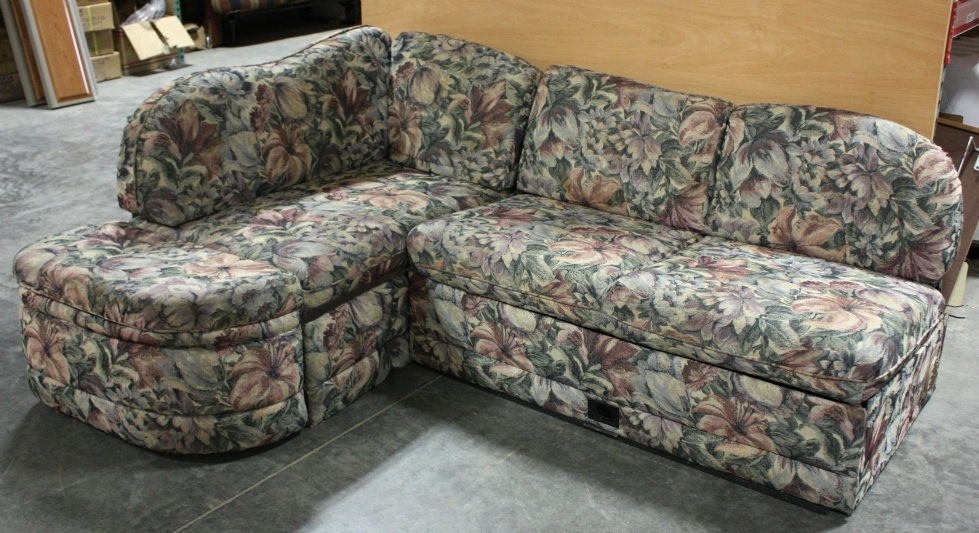 Rv Furniture Used Rv Cloth Flower Pattern J Lounge For