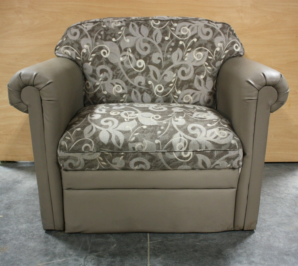 USED VINYL AND CLOTH CHAIR RV FURNITURE FOR SALE RV Furniture