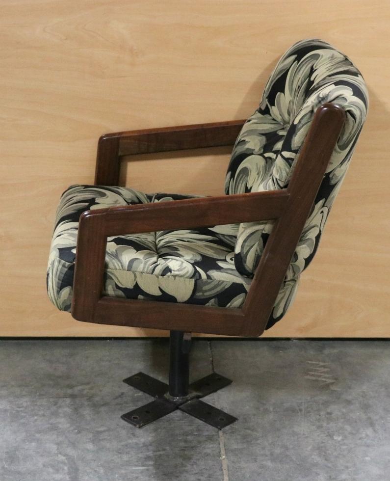 Rv Furniture Used Cloth Swivel Dinette Chair Rv Furniture