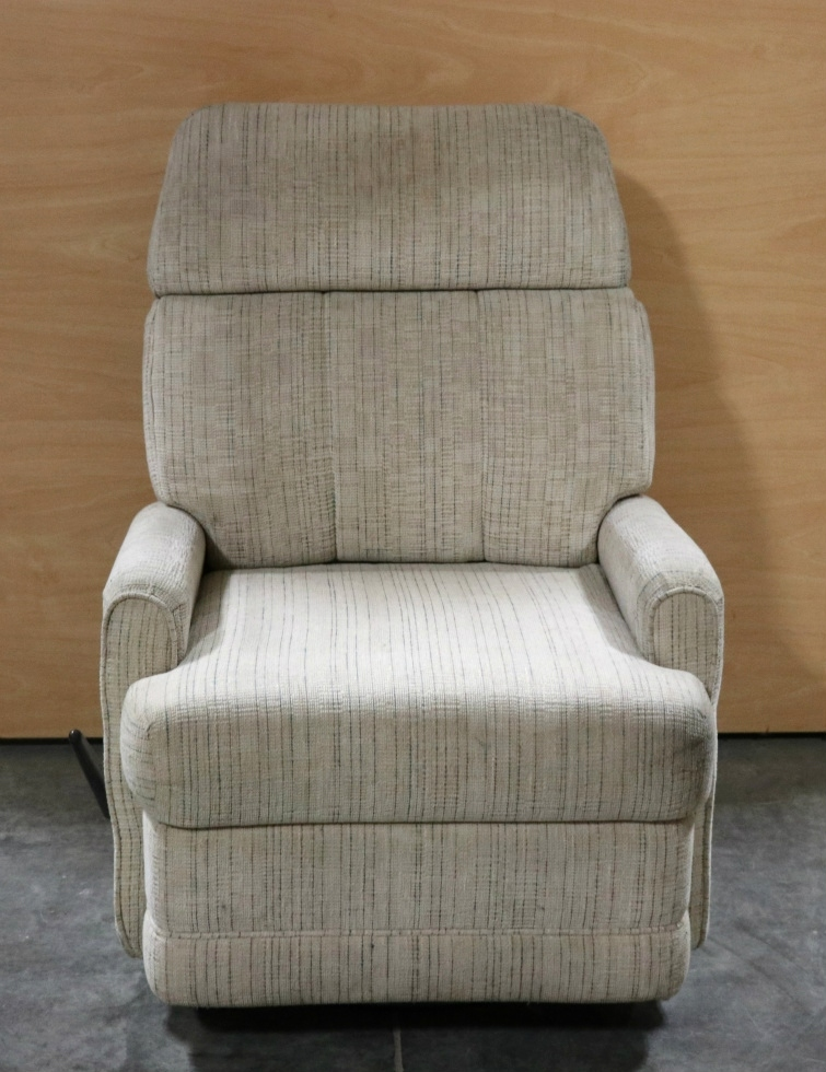 Rv Chairs Recliners >> RV Furniture USED MOTORHOME CLOTH SWIVEL RECLINER RV ...
