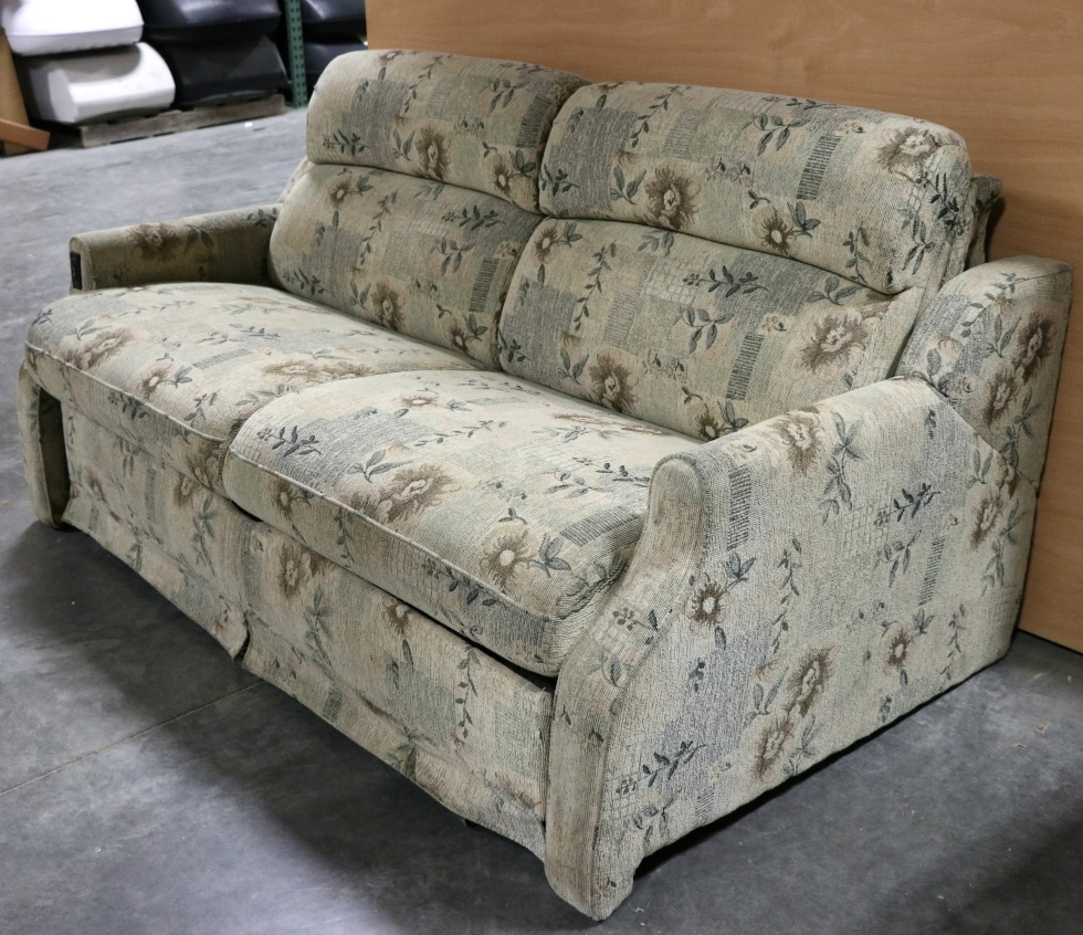 RV Furniture USED ELECTRIC CLOTH RV SLEEPER SOFA MOTORHOME