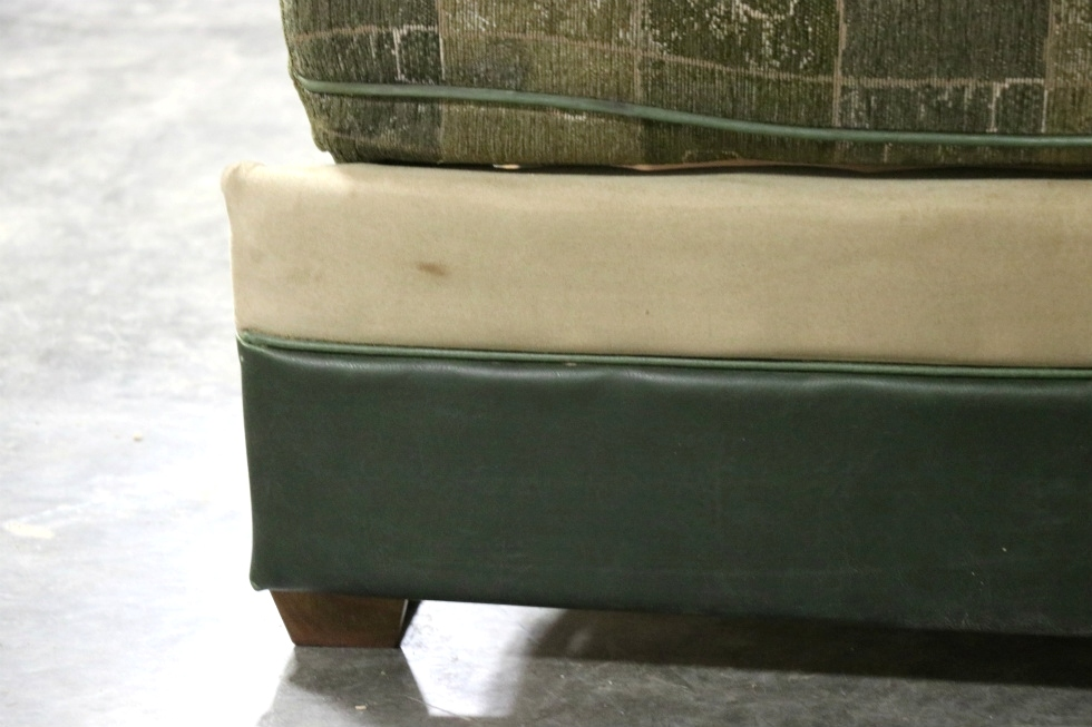 Rv Furniture Used Green Cloth Rv Jack Knife Sleeper Sofa