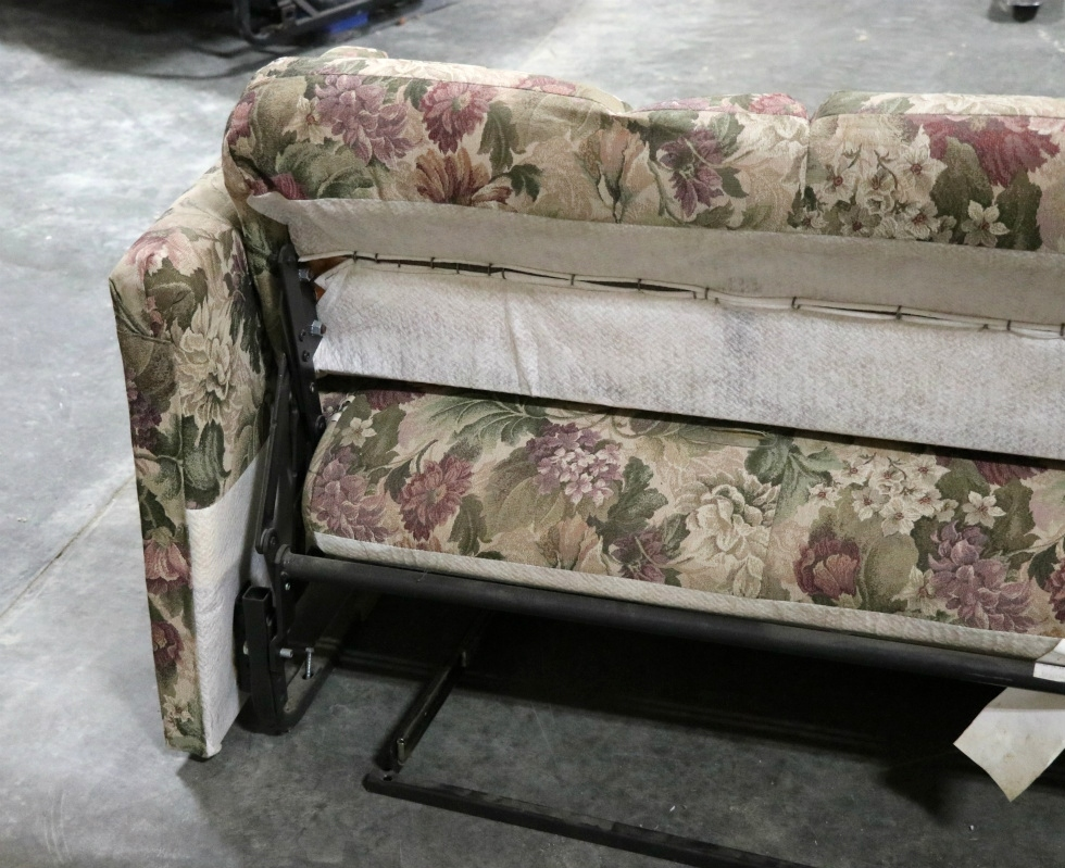 Outstanding Rv Furniture Used Rv Floral Pattern Cloth Jack Knife Sleeper Gmtry Best Dining Table And Chair Ideas Images Gmtryco