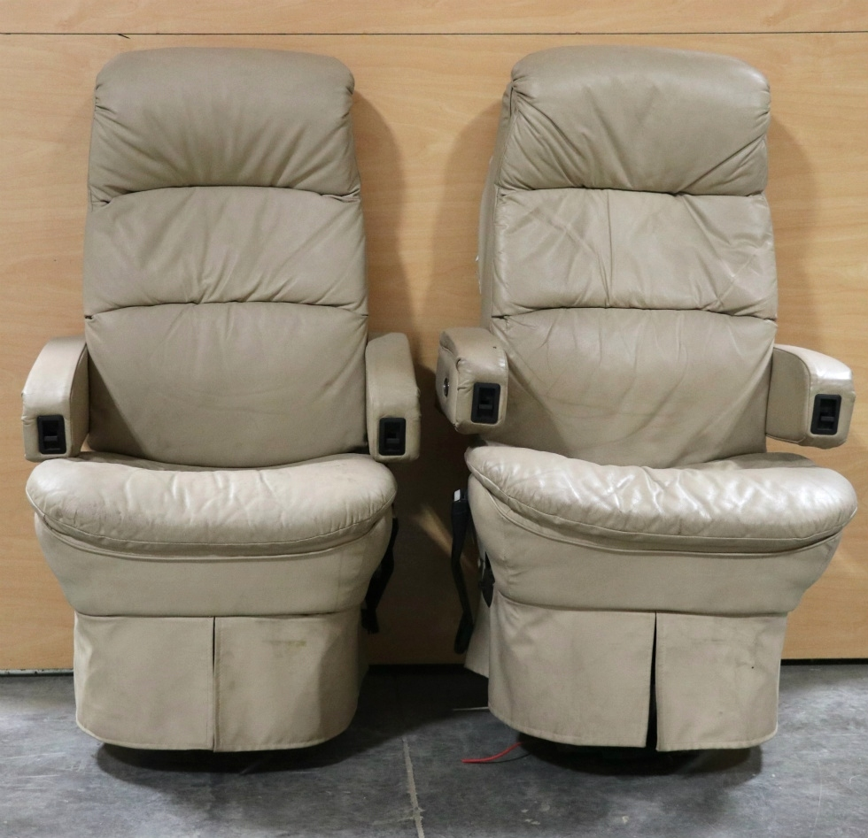 Couches And Chairs For Sale: RV Furniture USED FLEXSTEEL RV CAPTAIN CHAIR SET FOR SALE