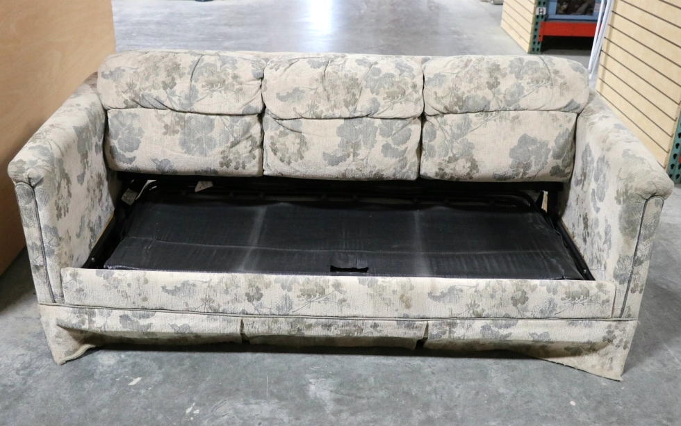 Rv Furniture Used Rv Cloth Pull Out Sleeper Sofa Motorhome