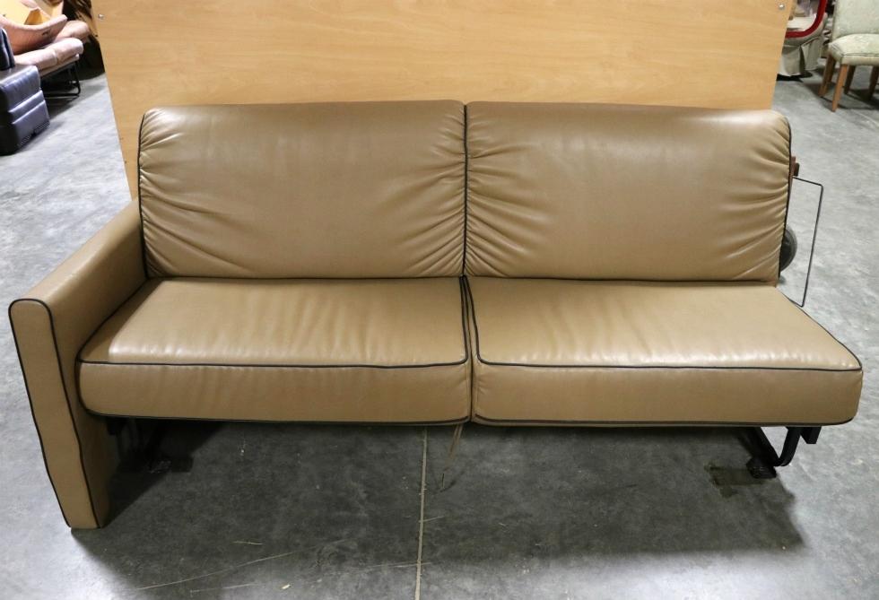 Phenomenal Rv Furniture Used Motorhome Brown Jack Knife Sleeper Sofa Rv Cjindustries Chair Design For Home Cjindustriesco