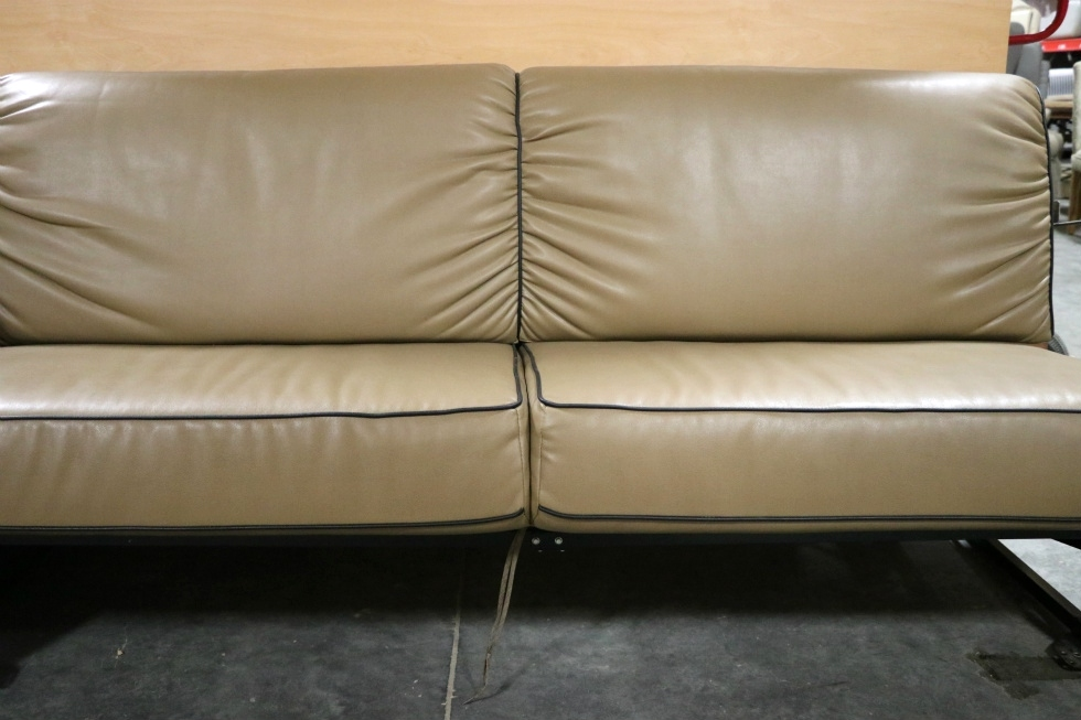 Fabulous Rv Furniture Used Motorhome Brown Jack Knife Sleeper Sofa Rv Cjindustries Chair Design For Home Cjindustriesco