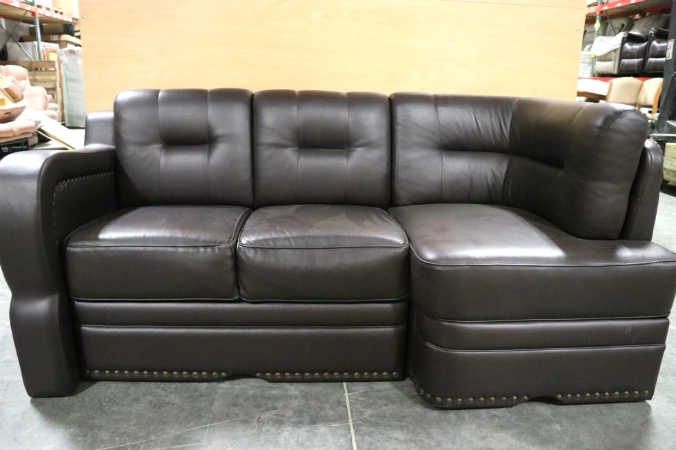 Rv Furniture Used Villa International Rv Brown Leather J